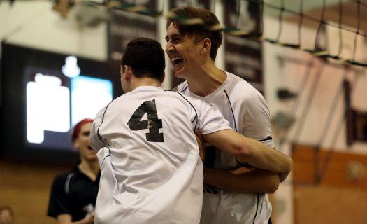 newington volleyball team mates