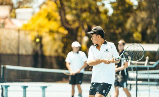 tennis newington training